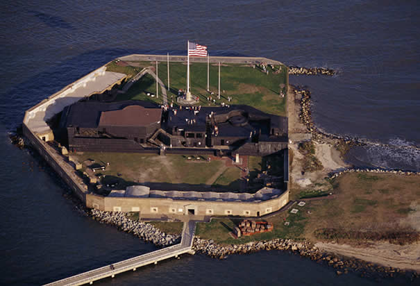 7 - Visit Ft. Sumter