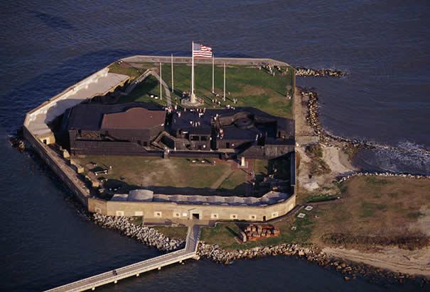 7 - Visit Ft. Sumter
