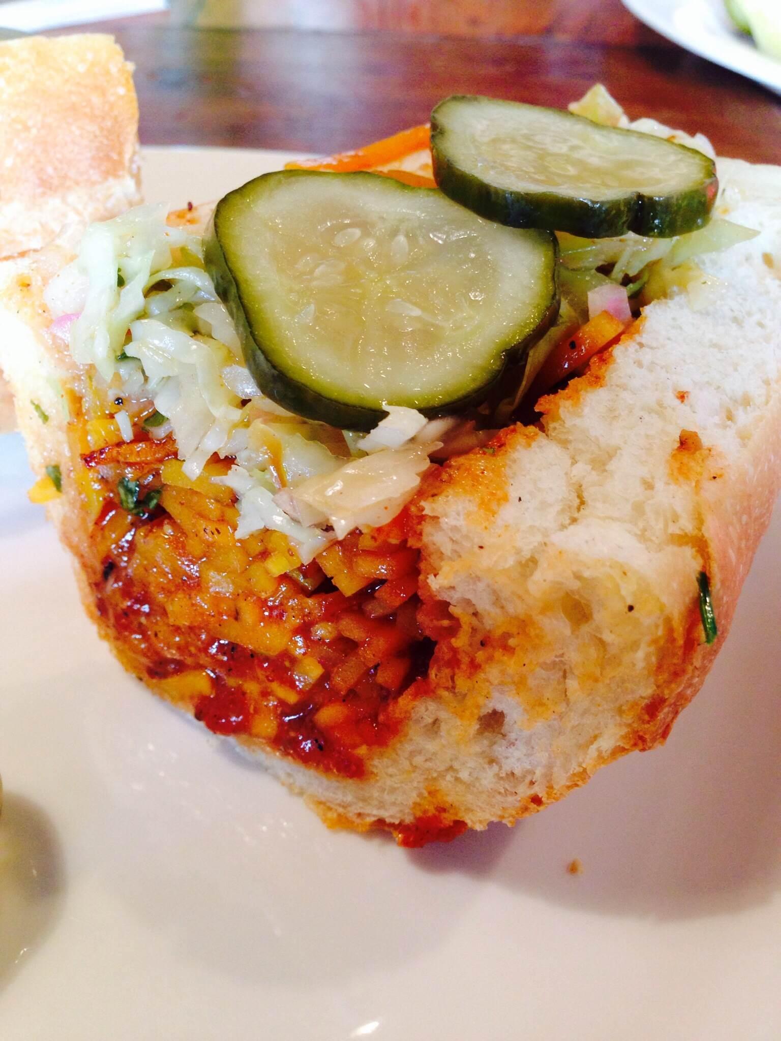 5 - Get a sandwich at Butcher & Bee