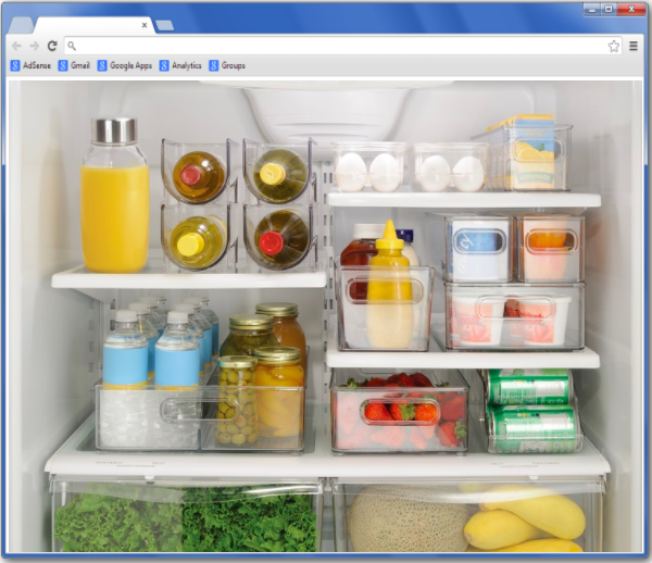Refrigerator Theory of Web Design
